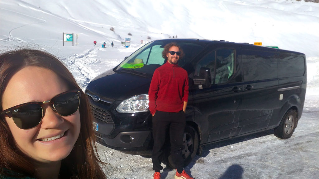 Cécile et Vincent, la vanlife à la montagne