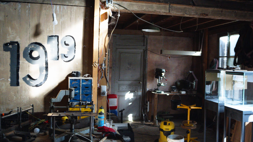 À l'intérieur de l'atelier du quartier métisseur
