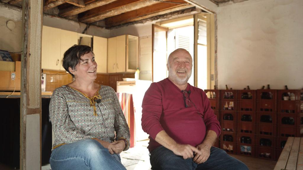 Guillemette et Philippe, deux bénévoles du quartier métisseur