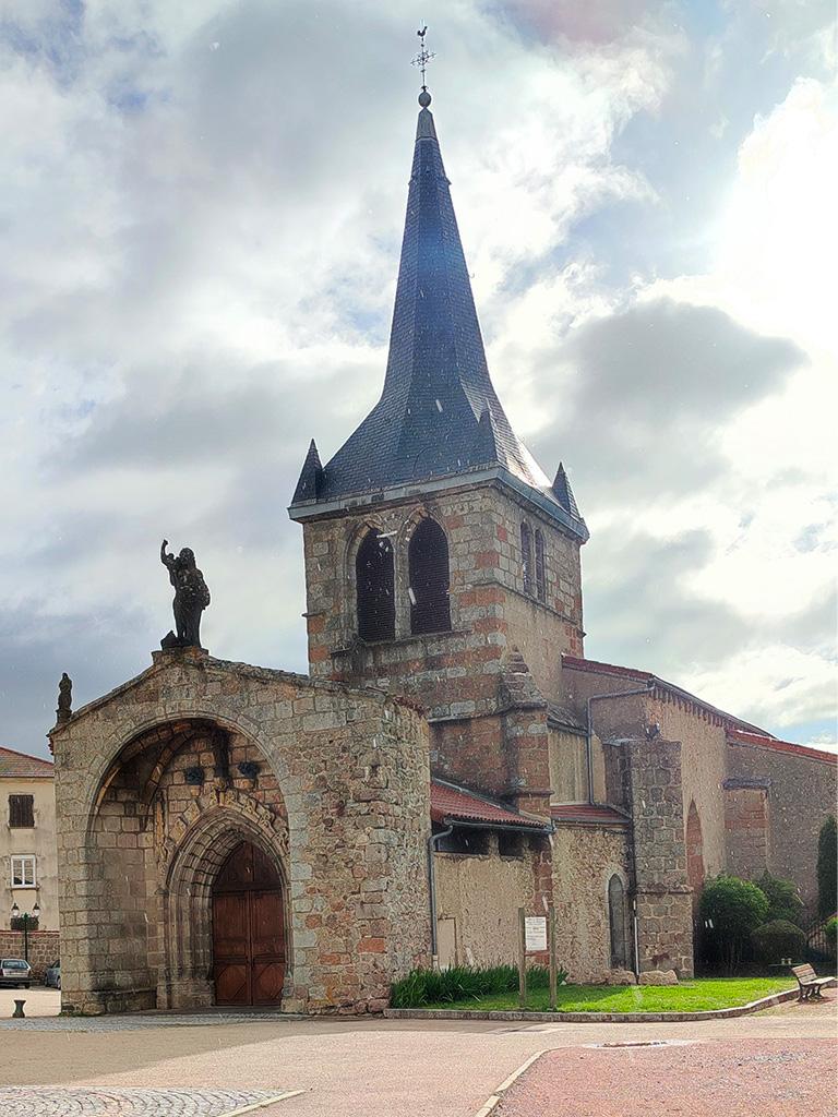 L'église de Noirétable